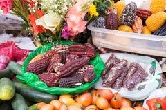 市场食物 免版税库存图片