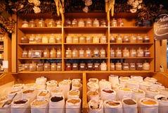 市场香料 免版税图库摄影