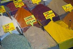 市场香料 库存图片