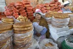 市场,库斯科省,秘鲁 免版税库存图片