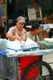 市场,泰国。 免版税图库摄影