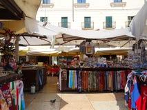 市场,维罗纳,意大利 库存照片
