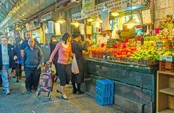 市场水果和蔬菜 免版税库存照片