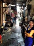 市场购物在迪拜 图库摄影