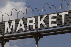 市场 图库摄影