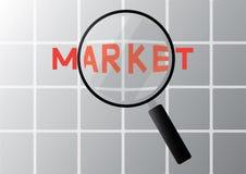 市场 免版税库存照片
