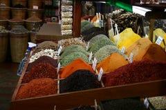 市场iv香料土耳其 免版税库存照片