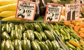 市场vegatables 免版税库存照片