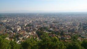 市塞雷希腊 免版税库存图片