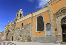市奥鲁罗,玻利维亚 免版税库存图片