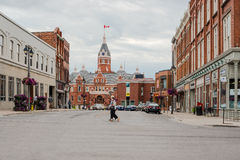 市安大略的斯特拉福,加拿大 免版税库存图片
