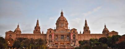 市巴塞罗那-西班牙-欧洲 库存照片