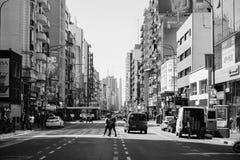 市布宜诺斯艾利斯 库存照片