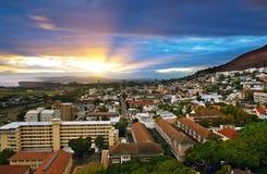 市开普敦,南非。 库存图片