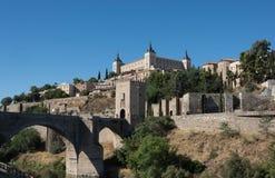 市托莱多,西班牙 免版税图库摄影
