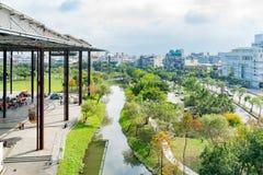 市政中心的外视图 库存照片