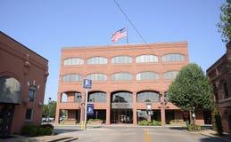 市政中心Jonesboro阿肯色 免版税库存照片