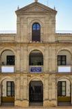 市政便宜的房子在塞维利亚,西班牙 库存照片