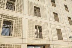 市政公立图书馆(Stadtbibliothek)斯图加特 免版税库存图片