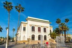 市政剧院在杰迪代,摩洛哥 免版税库存图片