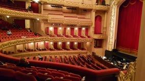 市政剧院在里约热内卢,巴西 免版税库存照片