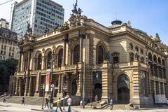 市政剧院 免版税库存图片