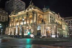 市政剧院 免版税图库摄影