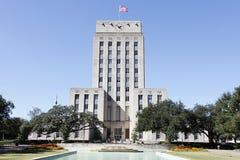 市政厅休斯敦得克萨斯 免版税图库摄影