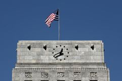 市政厅休斯敦顶层 免版税图库摄影