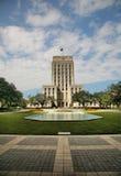市政厅休斯敦 免版税库存图片