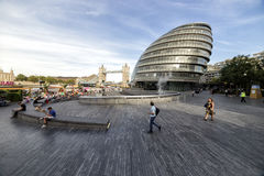 市政厅伦敦 免版税库存照片
