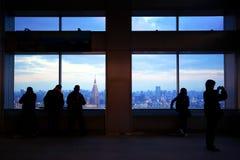 市政厅俯视东京 免版税图库摄影