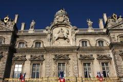市政厅利昂 免版税图库摄影