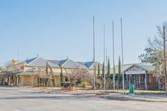 市政厅和邮局在Hopetown 免版税库存图片