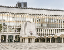 市政厅图书馆,伦敦,英国 免版税图库摄影