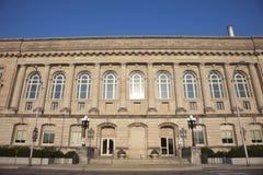 市政厅在得梅因 图库摄影