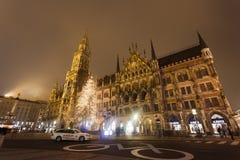 市政厅在慕尼黑 图库摄影