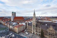 市政厅在慕尼黑 免版税库存图片