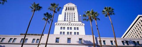 市政厅在洛杉矶 免版税库存图片