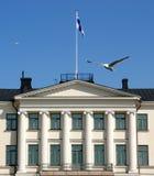 市政厅在赫尔辛基 免版税库存图片