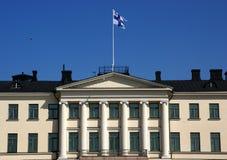 市政厅在赫尔辛基 库存照片