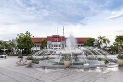 市政厅在Java的Indoensia Surabya 免版税库存图片