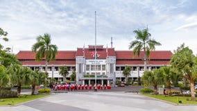 市政厅在Java的Indoensia Surabya 库存图片