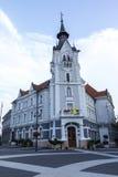 市政厅在Kaposvar 库存照片