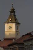 市政厅塔,布拉索夫,罗马尼亚 库存图片