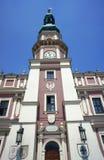 市政厅塔 免版税图库摄影