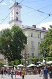 市政厅大厦塔  库存图片