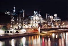 市政厅巴黎 免版税库存照片