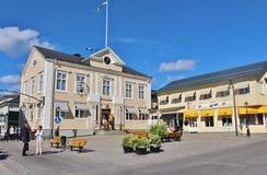 市政厅广场在PiteÃ¥ 库存图片
