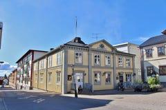 市政厅广场在PiteÃ¥ 免版税库存照片